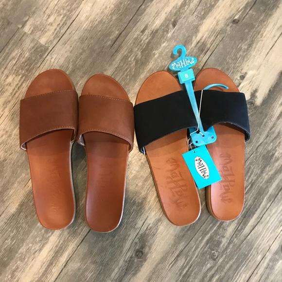 1324a11a8ce7 Mad Love (Target) Slide Sandals 2 pair!!